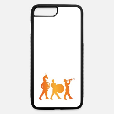 Marchingband Silhouette of A Marching Band - iPhone 7 & 8 Plus Case