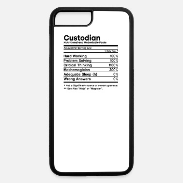 Custodian Funny Funny Custodian Job Description Janitor Custodians - iPhone 7 & 8 Plus Case