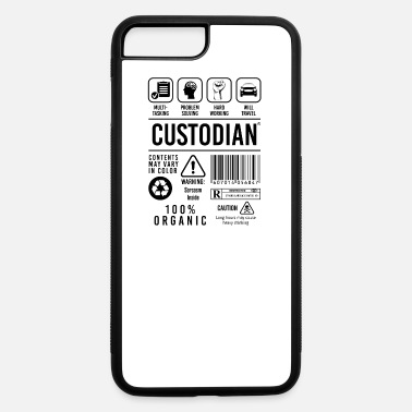 Custodian Funny Custodian Job Description Janitor Custodians - iPhone 7 & 8 Plus Case