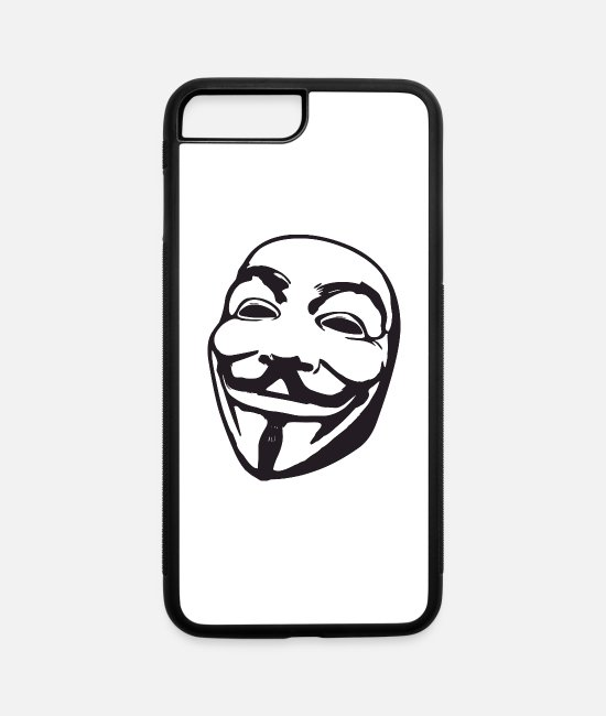 Anon iPhone Cases - Anon - iPhone 7 & 8 Plus Case white/black