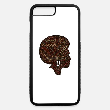 Afro afro woman - iPhone 7 Plus/8 Plus Rubber Case