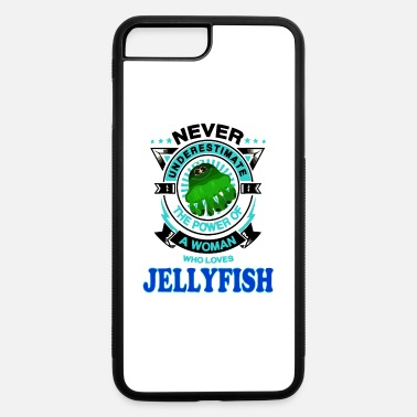Woman Love A Woman Loves Jellyfish - iPhone 7 & 8 Plus Case