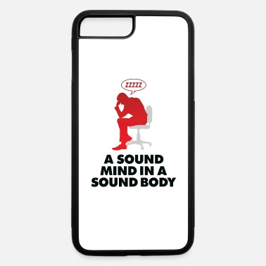 Healthy A Healthy Mind In A Healthy Body - iPhone 7 Plus/8 Plus Rubber Case