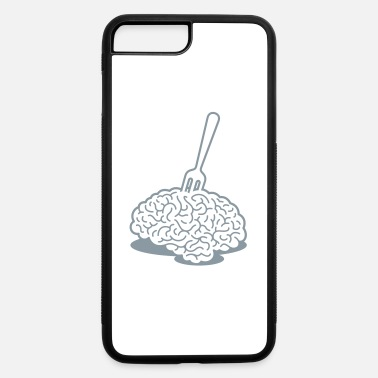 Fork A Brain With A Fork - iPhone 7 Plus/8 Plus Rubber Case