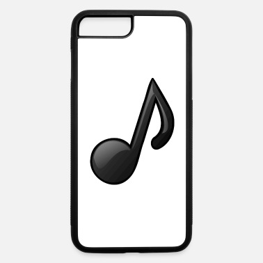 Note Clue Music Note Musical Notes Instrument Gift Present - iPhone 7 Plus/8 Plus Rubber Case