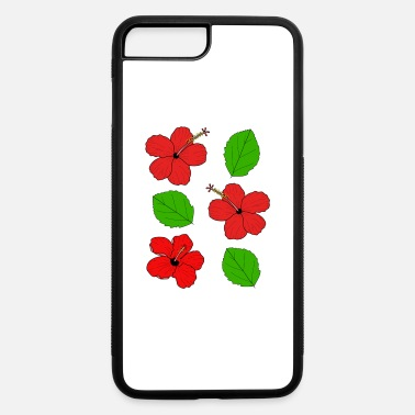 Graphic Print Art Hibiscus graphic print - iPhone 7 & 8 Plus Case