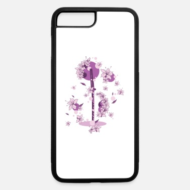 Katana Katana and Flowers - iPhone 7 & 8 Plus Case