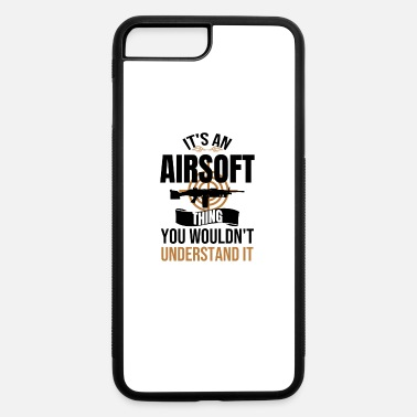 Team Shooting Sport Airsoft Player Gift | Airsoft Lover Airsofting Gun - iPhone 7 & 8 Plus Case