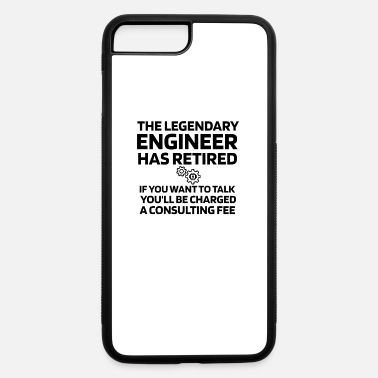 Civil Engineering Funny Retired Engineer Gift Engineer Retirement - iPhone 7 & 8 Plus Case