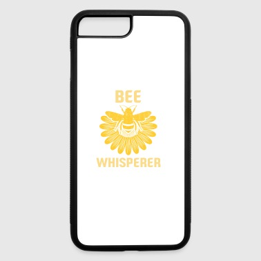 Bee Whisperer - Honey Beekeeper Flower Honeycomb - iPhone 7 Plus/8 Plus Rubber Case