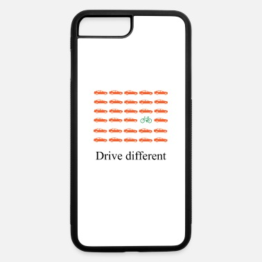Drive Go By Car Drive different: Car or bike - iPhone 7 Plus/8 Plus Rubber Case