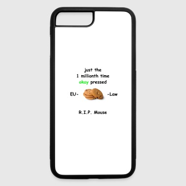 Eu cookie law eu - iPhone 7 Plus/8 Plus Rubber Case