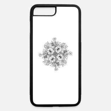 Bouquet Of Flowers Bouquet of Flowers - black - iPhone 7 & 8 Plus Case