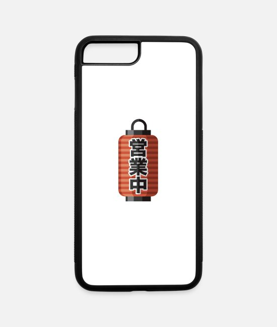Lantern iPhone Cases - Japanese Lantern - iPhone 7 & 8 Plus Case white/black