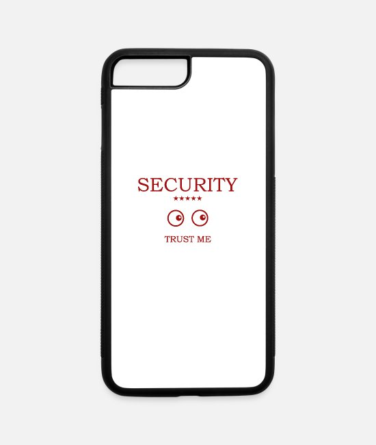 Secret iPhone Cases - Security Eyes looking - iPhone 7 & 8 Plus Case white/black