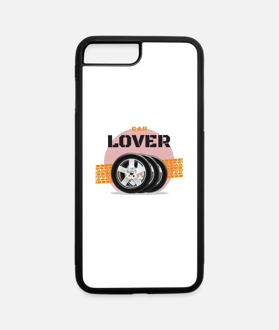 Pilot iPhone Cases - Car Lovers Car Mechatronics Car Mechanics - iPhone 7 & 8 Plus Case white/black