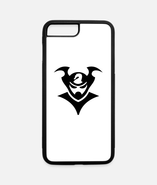 Artist iPhone Cases - warrior - iPhone 7 & 8 Plus Case white/black