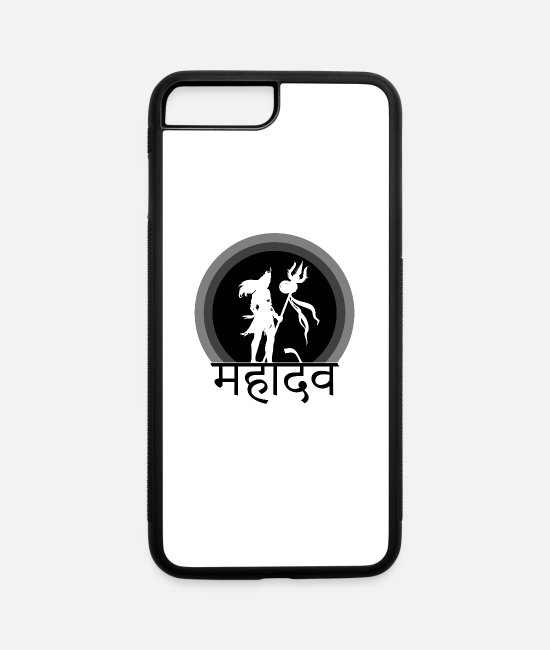 Master iPhone Cases - lord shiva t shirt - iPhone 7 & 8 Plus Case white/black
