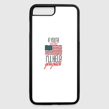 An offended American - iPhone 7 Plus/8 Plus Rubber Case