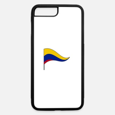 South America Colombia South America Meran Flags Banner Ensigns - iPhone 7 Plus/8 Plus Rubber Case