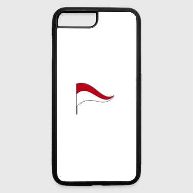 Indonesia Jakarta Flag Banner Flags Ensigns - iPhone 7 Plus/8 Plus Rubber Case