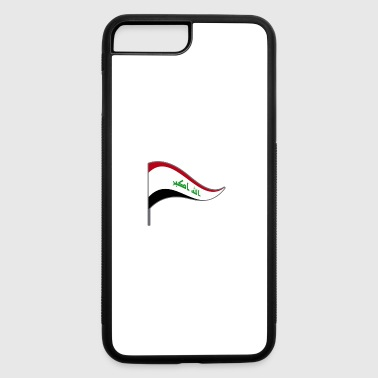Iraq Freedom Peace War Baghdad Flags Banner Flag - iPhone 7 Plus/8 Plus Rubber Case