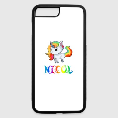 Nicole Nicol Unicorn - iPhone 7 Plus/8 Plus Rubber Case