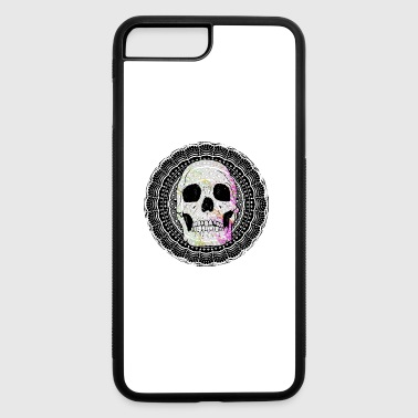 SUGAR SKULL MANDALA - iPhone 7 Plus/8 Plus Rubber Case