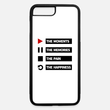Pause Play the moments, pause the memories... - iPhone 7 & 8 Plus Case