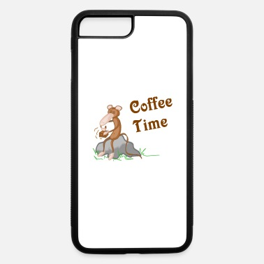Grinder Mojo Grinder Coffee Time Monkey - iPhone 7 & 8 Plus Case
