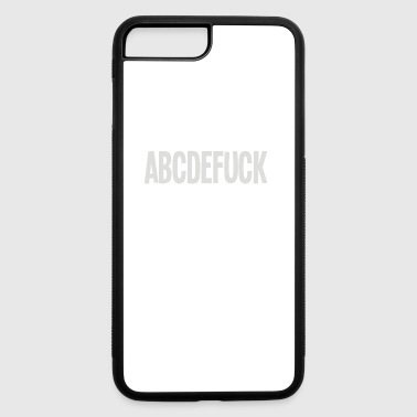 ABCDEFUCK - iPhone 7 Plus/8 Plus Rubber Case