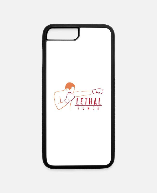 Punch iPhone Cases - Lethal Punch - iPhone 7 & 8 Plus Case white/black