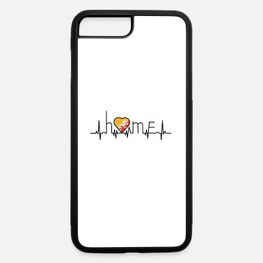 Bhutan i love home Bhutan - iPhone 7 Plus/8 Plus Rubber Case