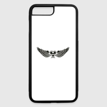 Heart With Wings Heart with wings - iPhone 7 Plus/8 Plus Rubber Case