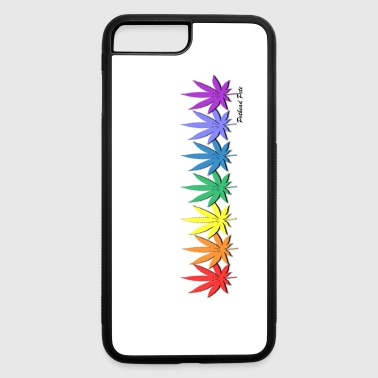 rainbow leaves - iPhone 7 Plus/8 Plus Rubber Case
