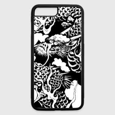 Japan traditional dragon - iPhone 7 Plus/8 Plus Rubber Case