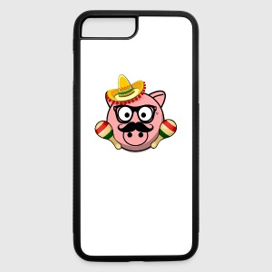 Senior Pig - iPhone 7 Plus/8 Plus Rubber Case