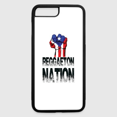 Reggaeton Nation puerto rican power Fist - iPhone 7 Plus/8 Plus Rubber Case