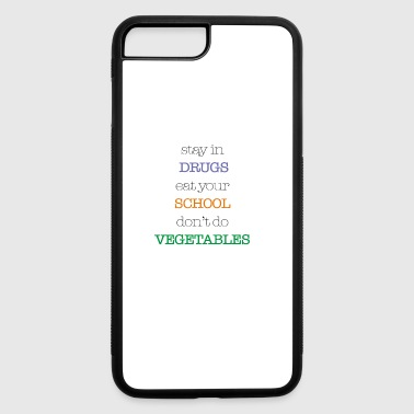 don't do vegetables - iPhone 7 Plus/8 Plus Rubber Case