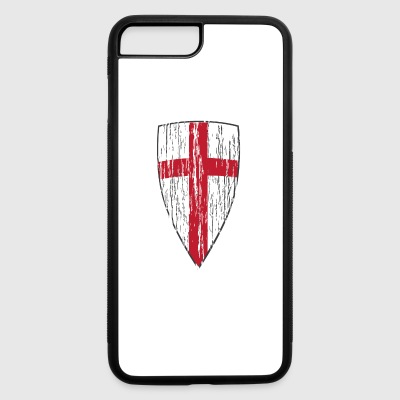 Crusader Shield Flag - iPhone 7 Plus/8 Plus Rubber Case