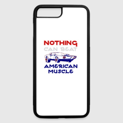 Nothing Can Beat American Muscle - iPhone 7 Plus/8 Plus Rubber Case