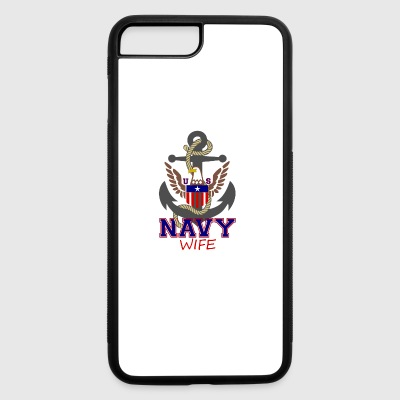 Us Navy Wife - iPhone 7 Plus/8 Plus Rubber Case