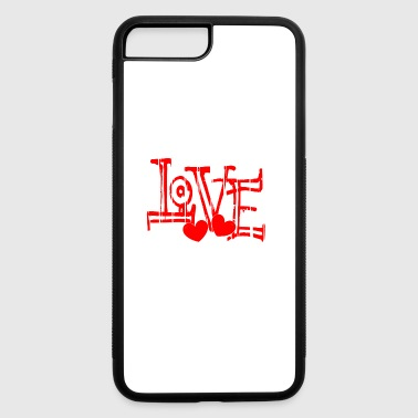 Valentine´s day February love gift - iPhone 7 Plus/8 Plus Rubber Case