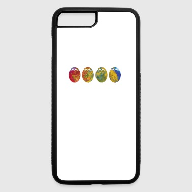 ColorfulPainted Easter Eggs Pascha Holiday Graphic - iPhone 7 Plus/8 Plus Rubber Case