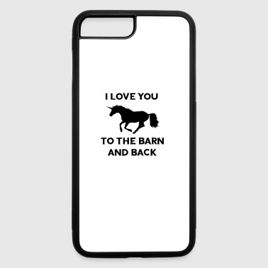 Funny Horse Rider Tee gift for women, girlfriends - iPhone 7 Plus/8 Plus Rubber Case