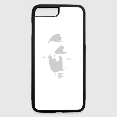 Airbrushed Stencil - iPhone 7 Plus/8 Plus Rubber Case