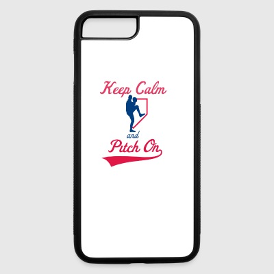 Keep Calm And Pitch On - iPhone 7 Plus/8 Plus Rubber Case