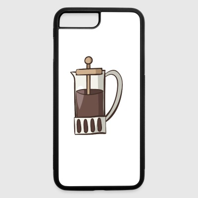 coffee - iPhone 7 Plus/8 Plus Rubber Case