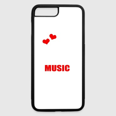 I Love House Music - iPhone 7 Plus/8 Plus Rubber Case