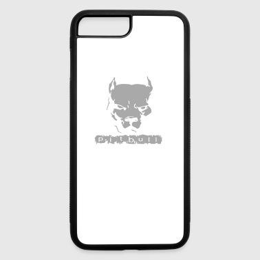 Pitbull American Pit Bull Spiked Dog Collar - iPhone 7 Plus/8 Plus Rubber Case